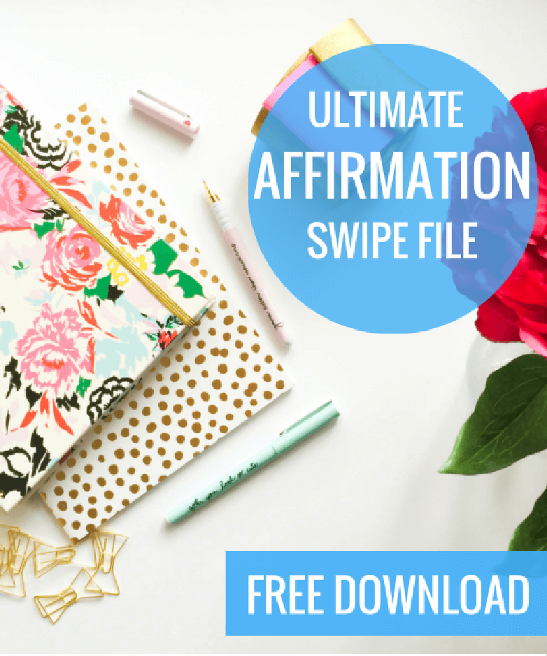 affirmation swipe file
