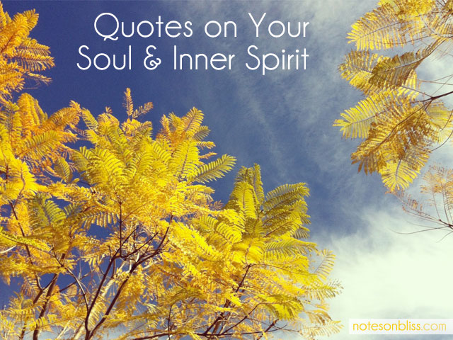 quotes on soul