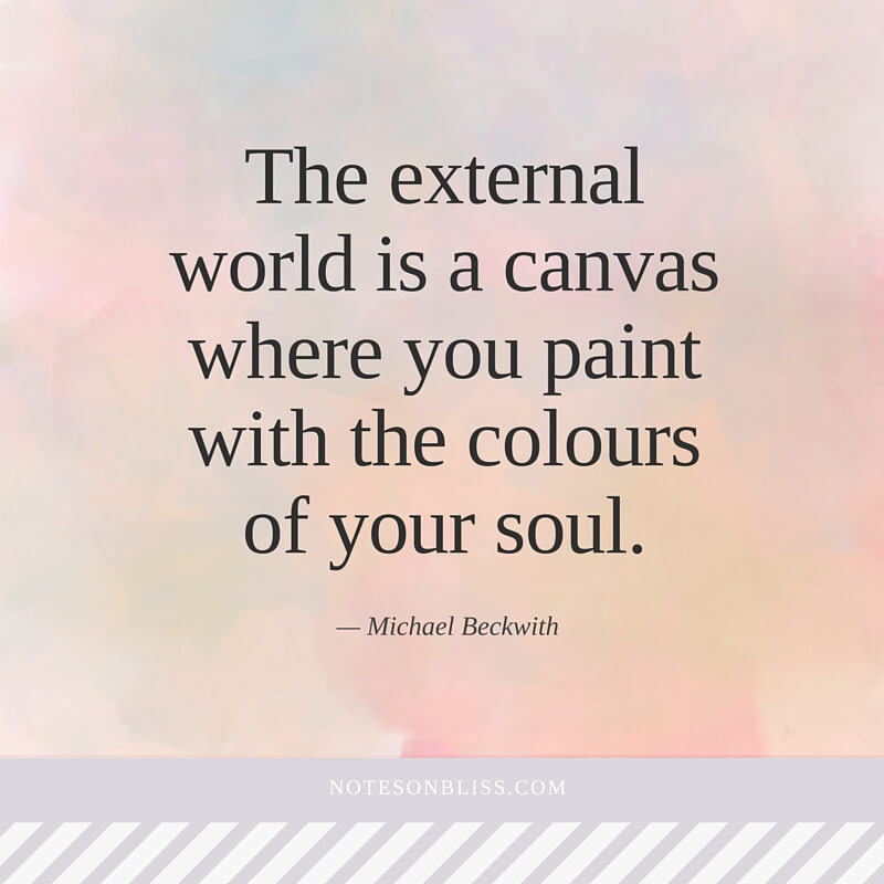 Etonnant Colours Of Your Soul Michael Beckwith Quote