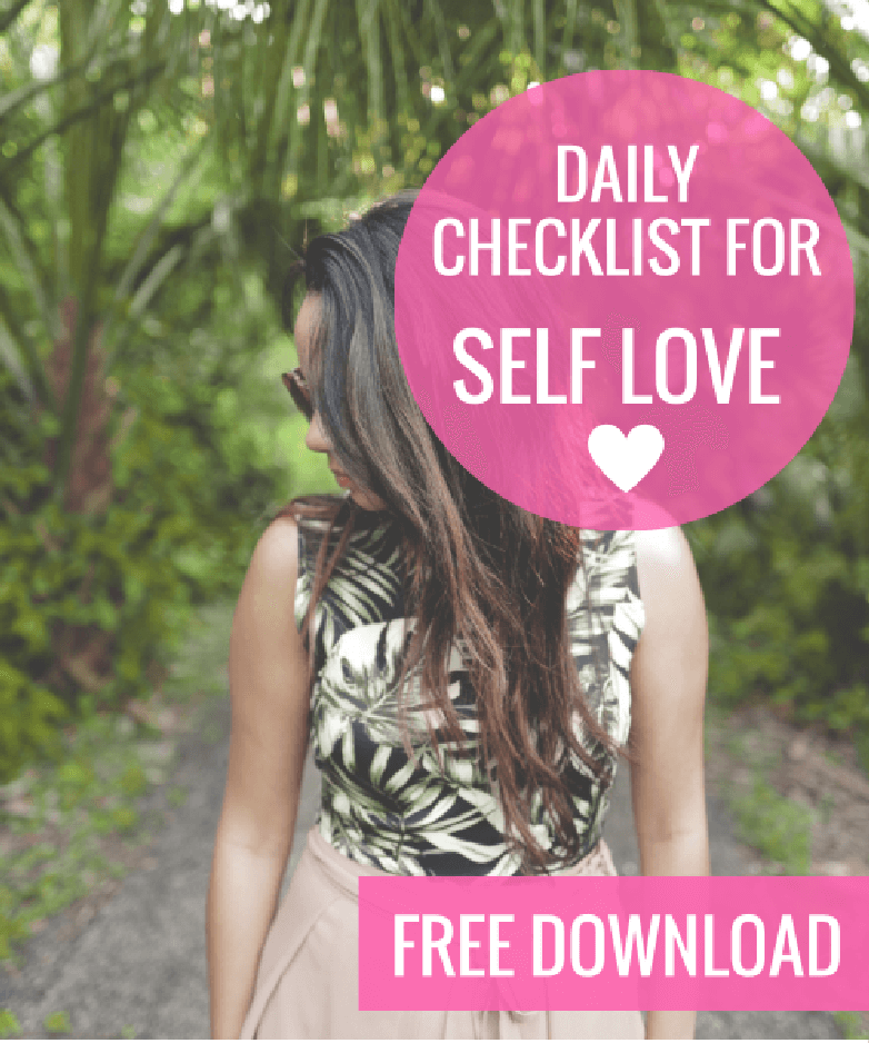 self-love-checklist