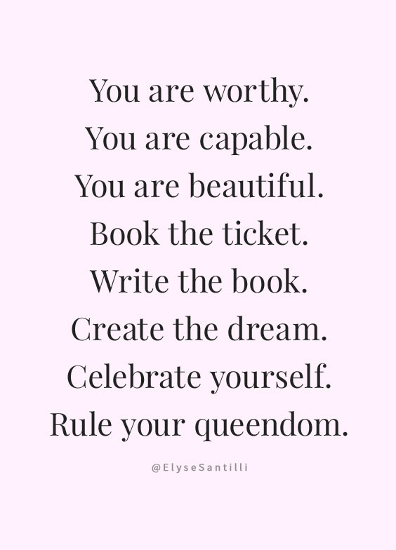 I Hope These Quotes On Self Love And Worthiness Inspire You To Remember You  Are Enough And Blossom Into Your Highest Self.